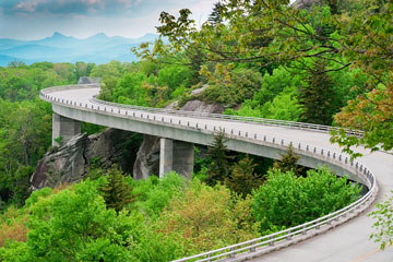 the Blue Ridge Parkway, a major civil engineering project